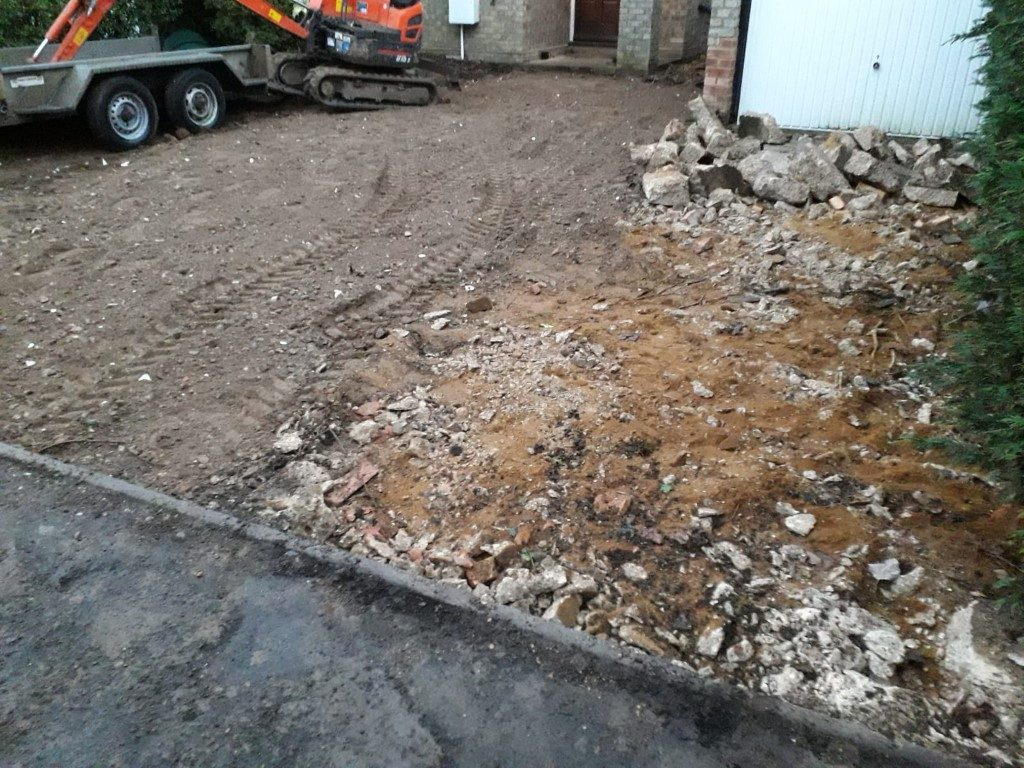 Removal Of Old Driveway